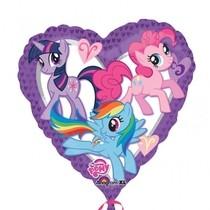My Little Pony srdce balonek 45cm