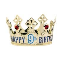 Koruna na hlavu k narozeninám s nalepovacím číslem