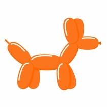 Tvarovacie balóniky oranžové