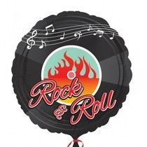 Foliový balónek Rock-N-Roll 45cm