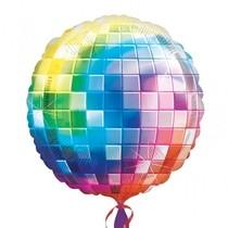 Disco koule foliový balónek 81cm