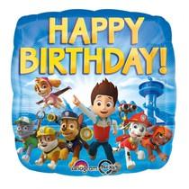 Balónek Paw Patrol šťastné narozeniny 43cm