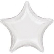 Hvězda White Metallic 48cm