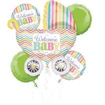 Baby balónky sada 5 ks