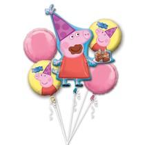 Prasátko Peppa balónky 5 ks sada