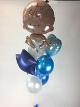 Nafukování balónku heliem