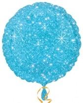 Balonek kruhy modrý - hvězdy