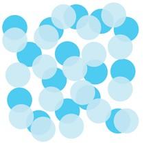 Papírové konfety modré 22 g