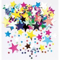 Konfety hvězdy metalické 14 g