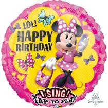 Minnie hrající balónek 71 x 71 cm
