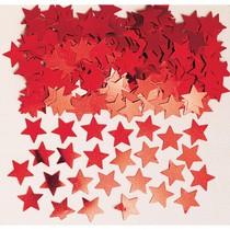 Konfety hvězdy Red 14g