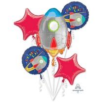 Vesmír balónky k narozeninám set 5 ks