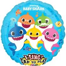 Baby Shark hrající balónek 71 cm