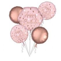 Balónky narozeniny sada 5 ks