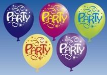 Balon party 6 ks balónikov