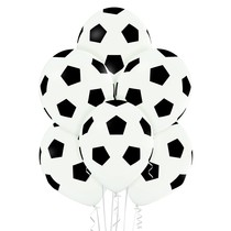 Fotbalový míč balónky 6 ks 30 cm