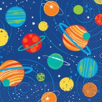 Vesmír ubrousky 16 ks 25 cm x 25 cm 2-vrstvé