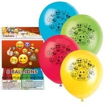 Emoji balonky 8ks mix 30cm