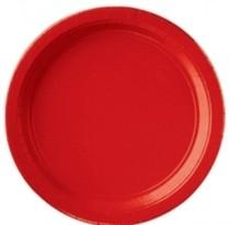 Talíře Apple Red 8ks 18cm