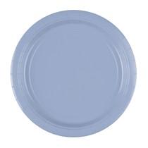 Talíře Pastel Blue 8 ks 23 cm