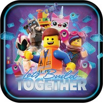 Lego Movie 2 talíře 8 ks 22,8 cm x 22,8 cm