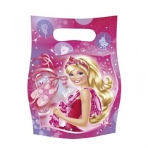 Barbie taška 6ks 16,5cm x 23cm