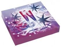 Ubrousky hvězdy 20ks 33cm x 33cm