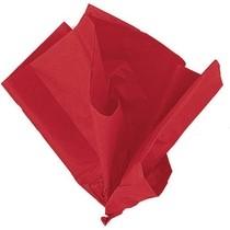 Hedvábný papír červený 10ks 51cm x 66cm