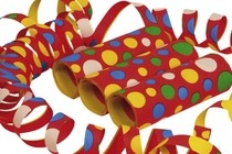 Serpentýny confetti 4 metre 3ks