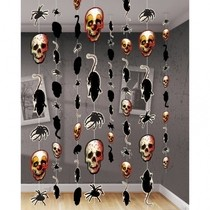 Závěsná dekorace Halloween 8ks 180cm