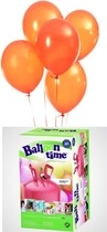 Helium Balloon time + balónky Orange 30ks