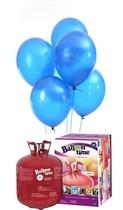 Helium Balloon time sada 50ks balónky Royal Blue
