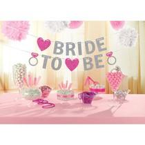 Nápis BRIDE TO BE 365 cm x 12,7 cm