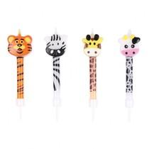 Safari svíčky 4 ks