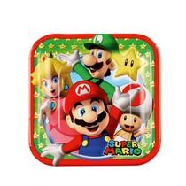 Super Mario talíře 8ks 8cm x 18cm
