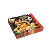 Super Mario ubrousky 20ks 33cm x 33cm