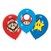 Super Mario balónky 6ks 27,5cm