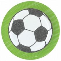 Fotbal talíře 8 ks, 23 cm