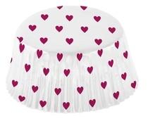 Srdíčka košíčky na muffiny 48 ks 50 mm x 25 mm