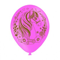 Jednorožec balónek 27,5 cm 6 ks