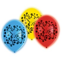 Mickey Mouse LED balónky 5 ks 28 cm