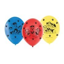 Tlapková patrola balónky 6 ks 23 cm mix