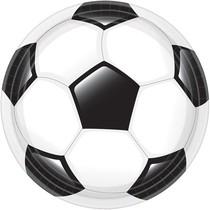 Talíře fotbal 23 cm
