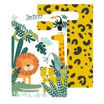 Safari taška papírová 8 ks 16 cm x 24 cm