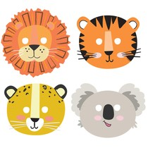 Safari masky 8 ks