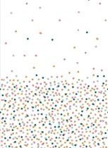 Ubrus tečky Dunicel® 138 x 220 cm