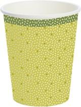 Papírové kelímky Rice Green 10 ks, bio 240 ml