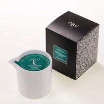 Vivalu masážní svíčka založená na Shea a Andiroba 150 ml