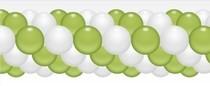 Balónková girlanda světle zelená 3 m