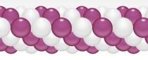 Balónková girlanda růžová 3 m